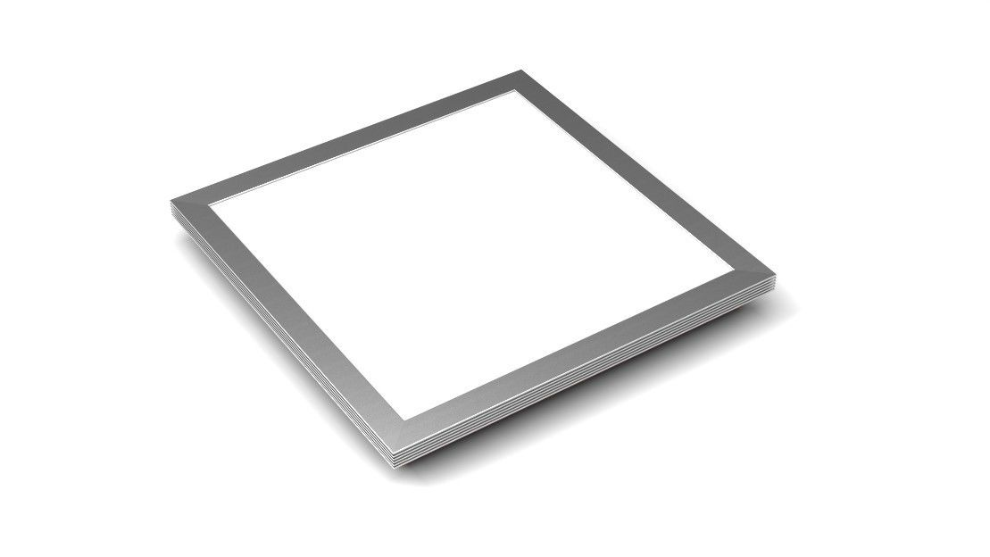Recessed Ip65 600x600 Led Ceiling Panel Flush Mount 48W Warm White For Shopping Malls
